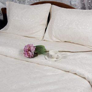 купить Постельное белье Deco Bianca сатин жаккард jk17-02 krem 200x220