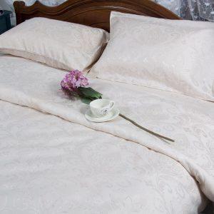 купить Постельное белье Deco Bianca сатин жаккард jk17-03 ecru 200x220