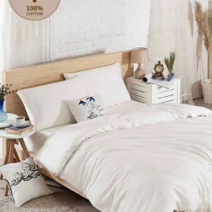 купить Постельное белье Eponj Home D.Boya beyaz ранфорс 200x220