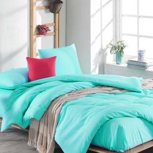 купить Постельное белье Eponj Home Flat Nil Yesil ранфорс 200x220