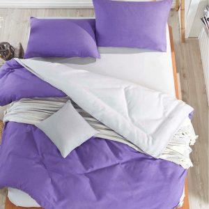 купить Постельное белье Eponj Home Paint Mix UltraViolet-A.Gri ранфорс 200x220
