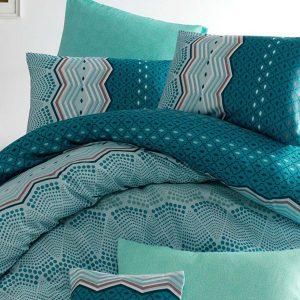 Постельное белье Eponj Home Soho Mint ранфорс 200×220