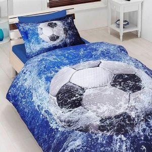 купить Постельное белье ТМ First Choice сатин 3d football 160x220