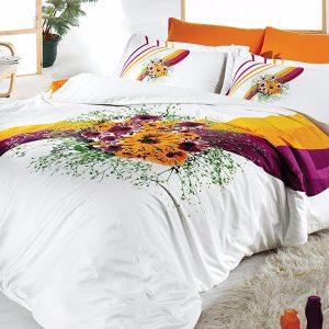 Постельное белье First Choice сатин buket oranj 200×220