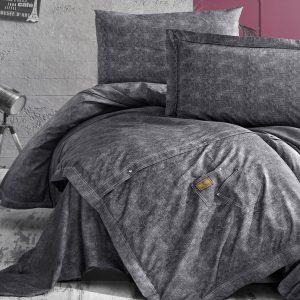 Постельное белье ТМ First Choice jeans gri 200×220
