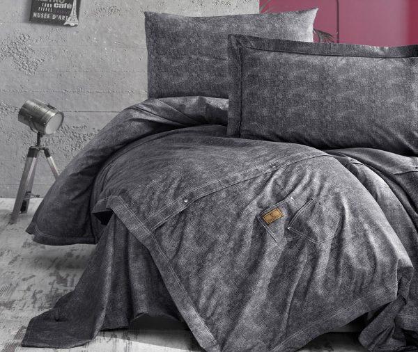 купить Постельное белье ТМ First Choice jeans gri 200x220