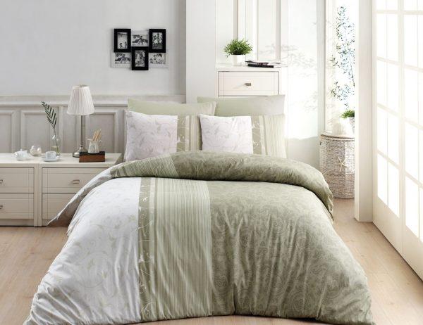 купить Постельное белье ТМ First Choice De Luxe peitra yesil 200x220