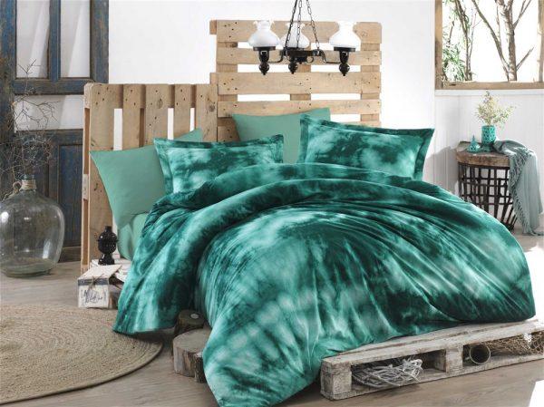 купить Постельное белье Hobby Batik Gizem зеленый 200x220