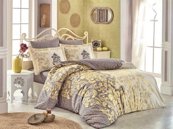 купить Постельное белье Hobby Flannel Mirella желтый 200x220