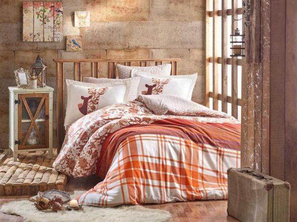 купить Постельное белье Hobby Flannel Valentina оранжевый