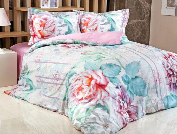 купить Постельное белье Irya Saten Digital Scarlett 200x220