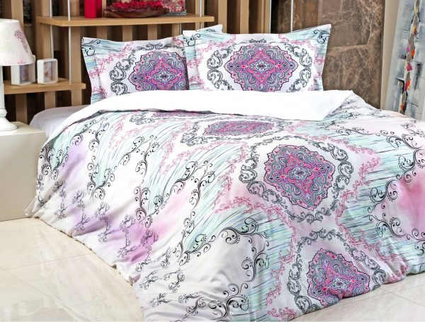 купить Постельное белье Irya Saten Digital Violet 200x220