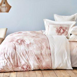 Постельное белье Karaca Home ранфорс – Alita pudra 2019-2 200×220