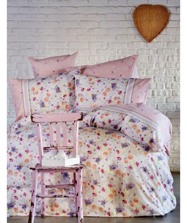 купить Постельное белье Karaca Home ранфорс Alvina 2017-1 200x220