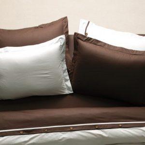 Постельное белье Karaca Home ранфорс – Solid кофе 160×220