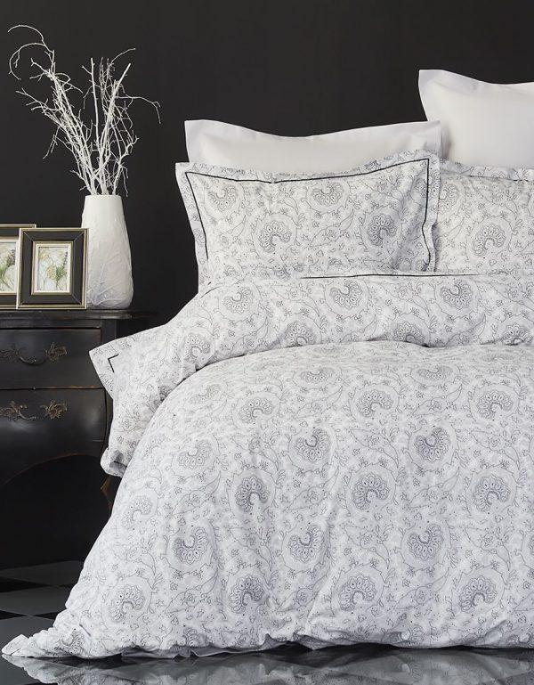 купить Постельное белье Karaca Home ранфорс Tierra siyah 2018-1 200x220