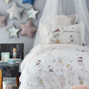 Постельное белье Karaca Home – Mila pudra 2019-2 ранфорс 160×220