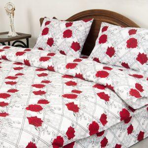 купить Постельное белье Lotus Ranforce Carmen V1 Красный