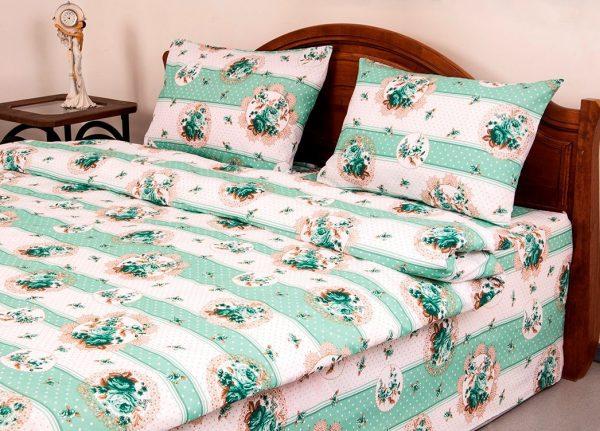 купить Постельное белье Lotus Ranforce Vintage Зеленый