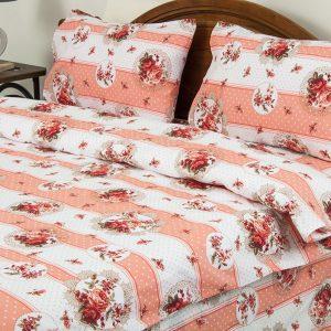 купить Постельное белье Lotus Ranforce Vintage Розовый