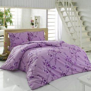 купить Постельное белье Maxstyle Terry Cotton - Elfida лиловое 160x220
