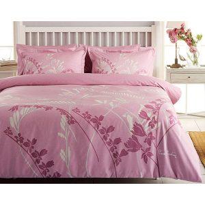 купить Постельное белье Pierre Cardin - Eva розовое сатин 200x220