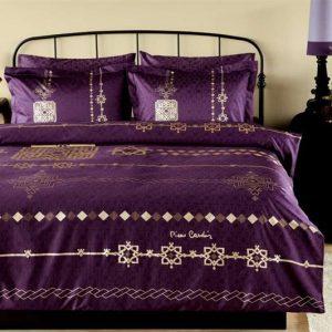 купить Постельное белье Pierre Cardin - Ottoman фиолетовое сатин 200x220
