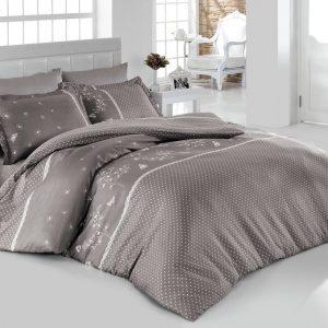Постельное белье SoundSleep Gri Azara ранфорс серый