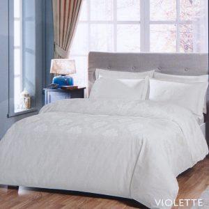 купить Постельное белье TAC жаккард - Violette ekru 200x220