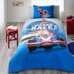 Постельное белье TAC Disney – Hot Wheels Race 160×220