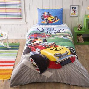 Постельное белье TAC Disney – Mickey Raсer 160×220