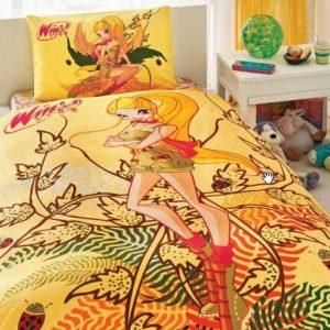 Постельное белье TAC Disney – Winx Stella Naturel Love 160×220