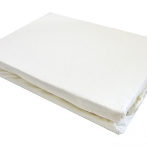 купить Простынь на резинке белая
