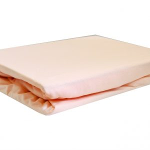 купить Простынь на резинке розовая