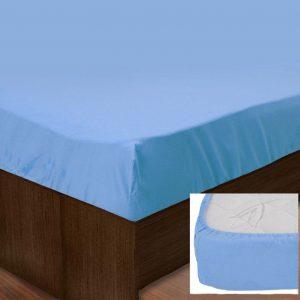 купить Простынь на резинке SoundSleep 143 blue