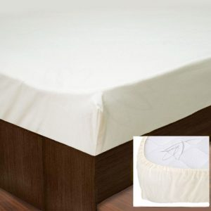 Простынь на резинке SoundSleep PR80R-Ran-104 Cream