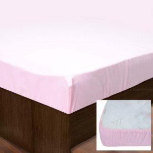 купить Простынь на резинке SoundSleep PR80R-Ran-149 Pink
