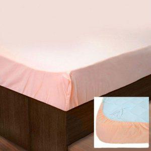 Простынь на резинке SoundSleep PR80R-Ran-169 Peach