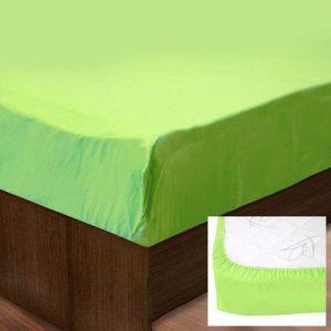 Простынь на резинке SoundSleep Ran-128 Green