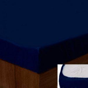 купить Простынь на резинке SoundSleep dark blue 183
