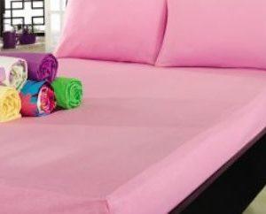 купить Простынь на резинке Varol Cotton Castltle Розовая 180x200