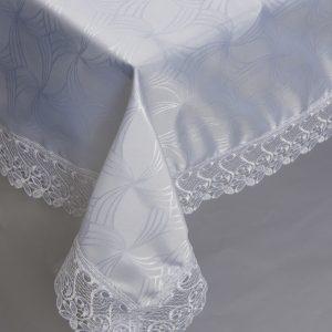 купить Скатерть жаккардовая - Isadora (Zerya) Z08 белый 160x220