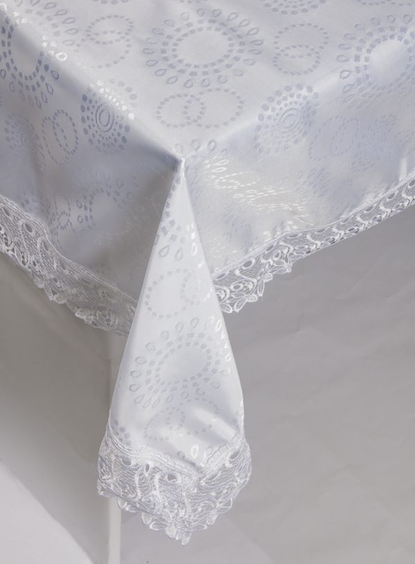 купить Скатерть жаккардовая - Isadora (Zerya) Z10 белый 160x220