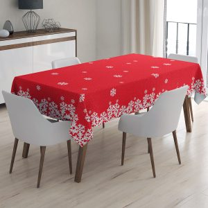 купить Скатерть праздничная Arya Christmas Snowy 150x220