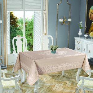 купить Скатерть Tropik Home Paisley Cappucino 5701-2 150x220