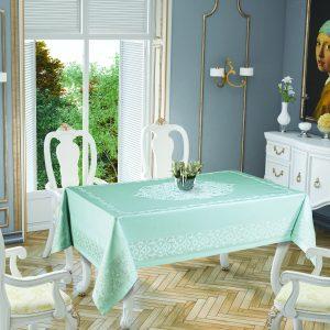 купить Скатерть Tropik Home Paisley Mint 9957-9 150x220