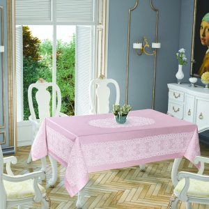 Скатерть Tropik Home Priencly Pink 5698-7 150×220