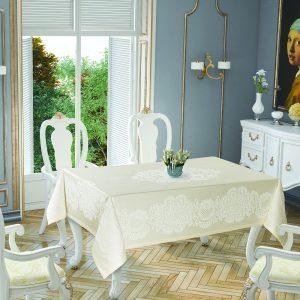 купить Скатерть Tropik Home Royal Cream 5698-5 150x220