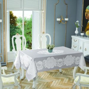 купить Скатерть Tropik Home Royal Grey 5699-3 150x220
