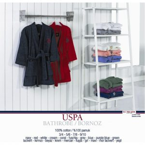 купить Халат женский U.S. Polo Assn Uspa Mor-Lacivert S/M